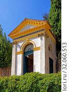 Santuario Giubilare delle Sette Chiese, vierte Kapelle. Стоковое фото, фотограф Bernd J. W. Fiedler / age Fotostock / Фотобанк Лори