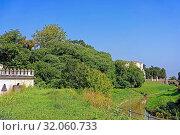 Kanal, Canale Battaglia, Schloss, Castello del Catajo. Стоковое фото, фотограф Bernd J. W. Fiedler / age Fotostock / Фотобанк Лори