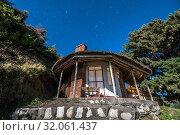 A house atop a hillside, Ankober, Ethiopia. Стоковое фото, фотограф Edwin Remsberg / age Fotostock / Фотобанк Лори