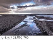 Kudafljot River in south part of Iceland. Стоковое фото, фотограф Konrad Zelazowski / easy Fotostock / Фотобанк Лори