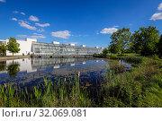 Купить «Science Park Gelsenkirchen, Ruhr Area, North Rhine-Westphalia, Germany», фото № 32069081, снято 15 мая 2019 г. (c) Caro Photoagency / Фотобанк Лори