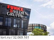 Купить «Funke Media Group, Essen, Ruhr Area, North Rhine-Westphalia, Germany», фото № 32069161, снято 24 мая 2019 г. (c) Caro Photoagency / Фотобанк Лори