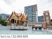 The Siriraj Bimukstan Museum at the Siriraj Hospital in Wang Lang in Thonburi in the city of Bangkok in Thailand. Thailand, Bangkok, November, 2017. Стоковое фото, фотограф Zoonar.com/URS FLUEELER / age Fotostock / Фотобанк Лори