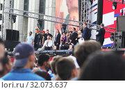 Купить «Концерт, посвященный Дню Государственного флага России», эксклюзивное фото № 32073637, снято 24 августа 2019 г. (c) Инна Козырина (Трепоухова) / Фотобанк Лори