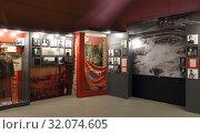 Купить «Беларусь. Брестская крепость. Музей обороны. Интерьер зала», фото № 32074605, снято 12 июля 2016 г. (c) EgleKa / Фотобанк Лори