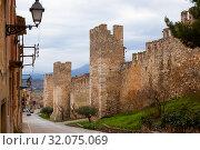 Купить «Stone walls of Monblanc», фото № 32075069, снято 20 декабря 2016 г. (c) Яков Филимонов / Фотобанк Лори