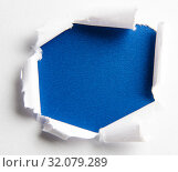 Torn paper with blank space for your message. Стоковое фото, фотограф Elnur / Фотобанк Лори