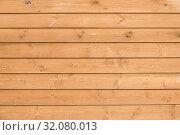 Купить «Фон из деревянных досок светло бежевого цвета», фото № 32080013, снято 22 августа 2019 г. (c) Владимир Устенко / Фотобанк Лори