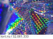 Купить «prismatic paper background», фото № 32081333, снято 31 июля 2019 г. (c) Tamara Kulikova / Фотобанк Лори