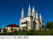 Купить «Image of Biserica in Remetea Chioarului», фото № 32082405, снято 14 сентября 2017 г. (c) Яков Филимонов / Фотобанк Лори