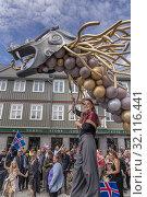 Купить «Parade, Iceland's Independence Day, Reykjavik, Iceland.», фото № 32116441, снято 17 июня 2019 г. (c) age Fotostock / Фотобанк Лори
