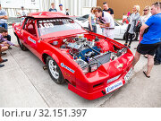 Купить «Tuned turbo car engine of Chevrolet Camaro vehicle», фото № 32151397, снято 19 мая 2018 г. (c) FotograFF / Фотобанк Лори