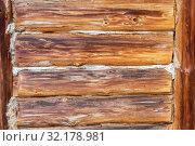 Купить «Wooden logs with natural patterns as background», фото № 32178981, снято 11 мая 2019 г. (c) FotograFF / Фотобанк Лори