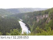 Река Усьва Пермский край. Стоковое фото, фотограф Носов Руслан / Фотобанк Лори