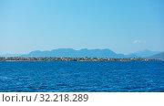 Купить «Panoramic view of Aegina Island», фото № 32218289, снято 12 сентября 2019 г. (c) Роман Сигаев / Фотобанк Лори