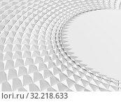 Купить «3d parametric triangular round structure», иллюстрация № 32218633 (c) EugeneSergeev / Фотобанк Лори