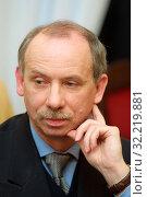 2002 Pictured: Janusz Lewandowski. Редакционное фото, фотограф jackowski henryk / age Fotostock / Фотобанк Лори