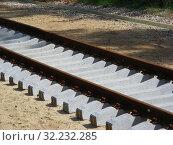 Купить «Железнодорожное полотно», эксклюзивное фото № 32232285, снято 4 июня 2015 г. (c) lana1501 / Фотобанк Лори