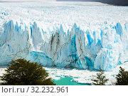 Купить «Glacier Perito Moreno, southeast of Argentina», фото № 32232961, снято 2 февраля 2017 г. (c) Яков Филимонов / Фотобанк Лори