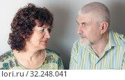 Купить «Man and woman After many years of living together», фото № 32248041, снято 3 апреля 2016 г. (c) Акиньшин Владимир / Фотобанк Лори