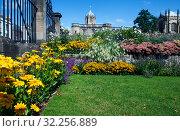Парк колледжа Крайст-черч. Оксфорд. Великобритания (2019 год). Стоковое фото, фотограф Сергей Афанасьев / Фотобанк Лори