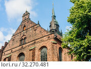 Church of the Holy Spirit (Helligaandskirken), Copenhagen, Denmark. Стоковое фото, фотограф Николай Коржов / Фотобанк Лори