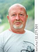 Купить «Портрет мужчины средних лет», эксклюзивное фото № 32271501, снято 4 июня 2019 г. (c) Игорь Низов / Фотобанк Лори