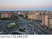 Санкт-Петербург. Улица Коллонтай (2019 год). Редакционное фото, фотограф Литвяк Игорь / Фотобанк Лори