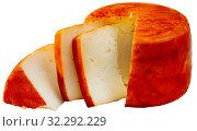 Купить «Tasty french goat cheese with pepper», фото № 32292229, снято 22 октября 2019 г. (c) Яков Филимонов / Фотобанк Лори