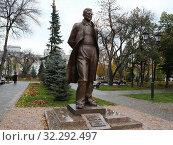 Купить «Самара. Памятник Д. Д. Шостаковичу», фото № 32292497, снято 15 октября 2019 г. (c) Светлана Кириллова / Фотобанк Лори