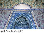Jame Mosque, Yazd, Yazd Province, Iran. Стоковое фото, фотограф Ivan Vdovin / age Fotostock / Фотобанк Лори