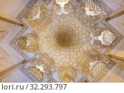 Купить «Shrine Complex of Abd al Samad, Jameh Mosque, 1304, Natanz, Natanz County, Isfahan Province, Iran.», фото № 32293797, снято 1 мая 2019 г. (c) age Fotostock / Фотобанк Лори