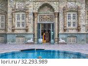 Купить «Green Palace, 1929, Saadabad Palace, Tehran, Iran.», фото № 32293989, снято 3 мая 2019 г. (c) age Fotostock / Фотобанк Лори