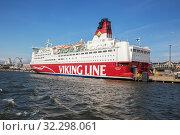 Купить «Viking Line in Helsinki», фото № 32298061, снято 23 мая 2019 г. (c) Юлия Бабкина / Фотобанк Лори