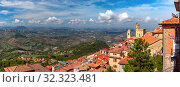 Купить «Palazzo Pubblico in San Marino», фото № 32323481, снято 26 сентября 2019 г. (c) Коваленкова Ольга / Фотобанк Лори