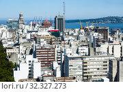 View of Montevideo streets (2017 год). Стоковое фото, фотограф Яков Филимонов / Фотобанк Лори