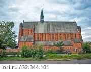 Barony Hall (Баронский зал, также известный как Баронская Церковь). Глазго. Шотландия. Великобритания (2019 год). Стоковое фото, фотограф Сергей Афанасьев / Фотобанк Лори