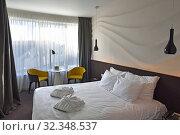 Купить «Dunetton Hotel, Klaipeda, port city on the Baltic Sea, Lithuania, Europe.», фото № 32348537, снято 23 июня 2019 г. (c) age Fotostock / Фотобанк Лори