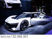 Купить «Audi AI:Race», фото № 32368301, снято 17 сентября 2019 г. (c) Art Konovalov / Фотобанк Лори