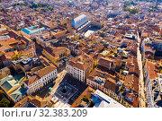 Aerial view of Padua, Italy (2019 год). Стоковое фото, фотограф Яков Филимонов / Фотобанк Лори