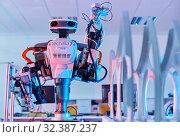 Купить «Robot Autonomy for Flexible Manufacturing, Collaborative robotic, Advanced manufacturing Unit, Technology Centre, Tecnalia Research & Innovation, Donostia...», фото № 32387237, снято 14 мая 2019 г. (c) age Fotostock / Фотобанк Лори
