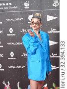 Купить «Sofia Reyes attends Los 40 Music Awards at Wizink Center on November 8, 2019 in Madrid, Spain», фото № 32394133, снято 8 ноября 2019 г. (c) age Fotostock / Фотобанк Лори