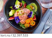 Купить «Seafood ceviche with red fish», фото № 32397533, снято 12 ноября 2019 г. (c) Яков Филимонов / Фотобанк Лори