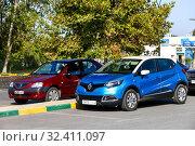 Купить «Renault Captur», фото № 32411097, снято 28 сентября 2019 г. (c) Art Konovalov / Фотобанк Лори