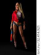 Купить «Show girl in sexy lingerie full-length shot», фото № 32414921, снято 11 октября 2019 г. (c) Гурьянов Андрей / Фотобанк Лори