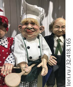 Boris Johnson as a chef and puppet on a string doll. (2019 год). Редакционное фото, фотограф Andre Maslennikov / age Fotostock / Фотобанк Лори