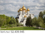 Купить «Успенский кафедральный собор, Ярославль», фото № 32439945, снято 13 мая 2019 г. (c) Юлия Бабкина / Фотобанк Лори