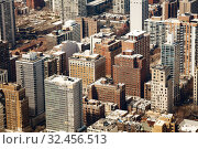 Midtown tall buildings in Chicago cover all image (2018 год). Стоковое фото, фотограф Сергей Новиков / Фотобанк Лори