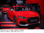 Купить «Audi TT RS», фото № 32473777, снято 17 сентября 2019 г. (c) Art Konovalov / Фотобанк Лори