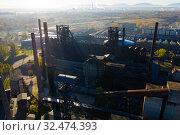 Купить «Metallurgical plant in Ostrava», фото № 32474393, снято 17 октября 2019 г. (c) Яков Филимонов / Фотобанк Лори